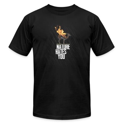 Flaming Gazelle - Men's Fine Jersey T-Shirt