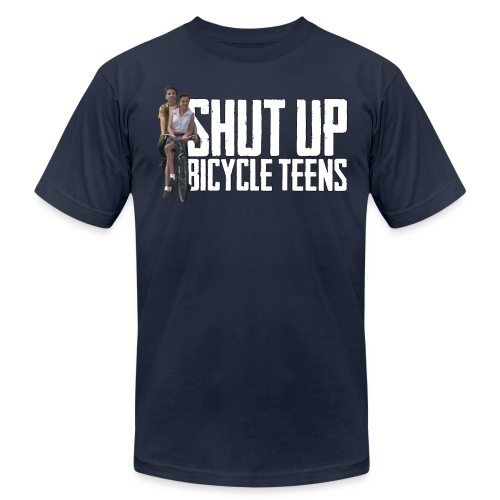 Bicycle Teens - Men's Fine Jersey T-Shirt
