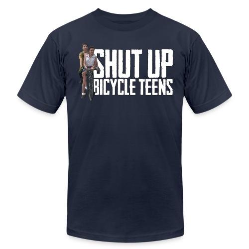 Bicycle Teens - Men's  Jersey T-Shirt