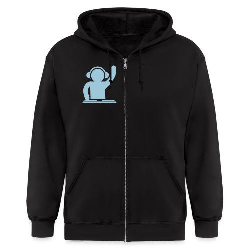 Zippered Hoodie-Mens - Men's Zip Hoodie