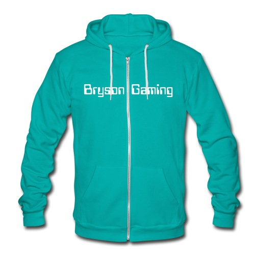 Unisex Fleece Zip Hoodie - Womens,T-shirt,Sweater,Mens,Gaming,Fitted,Designer,Clothing,BrysonGaming,Bryson