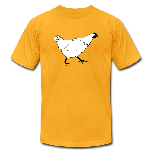 Chicken from Diary of a Frazzled Mother by Julia Frazzleby for men - Men's Fine Jersey T-Shirt