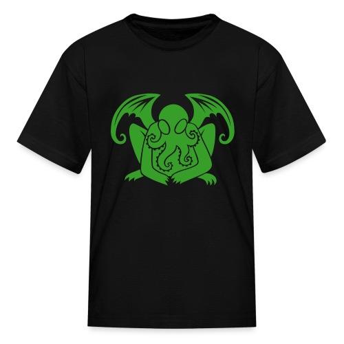 Cthulhu Kid's Shirt in Black - Kids' T-Shirt