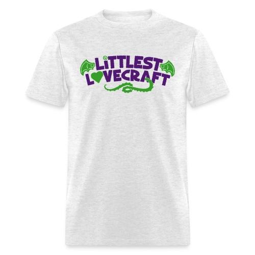 Littlest Lovecraft Logo on Grey Men's - Men's T-Shirt
