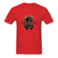 T-Shirts ~ Men's T-Shirt ~ Skull & Cigar Lightweight Tee
