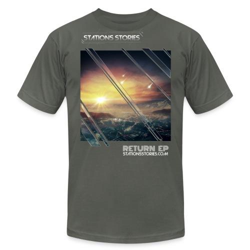 Stations Stories Return EP Shirt 2013 - Men's Fine Jersey T-Shirt