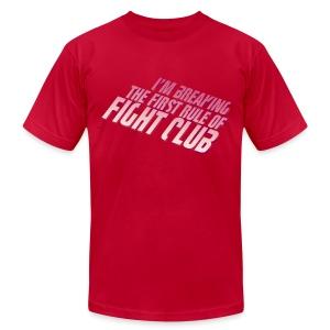 Don't Talk About Fight Club Men's Tee - Men's Fine Jersey T-Shirt