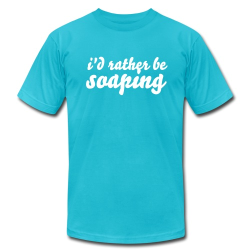 Rather Be Soaping Men's Tee - Men's Fine Jersey T-Shirt