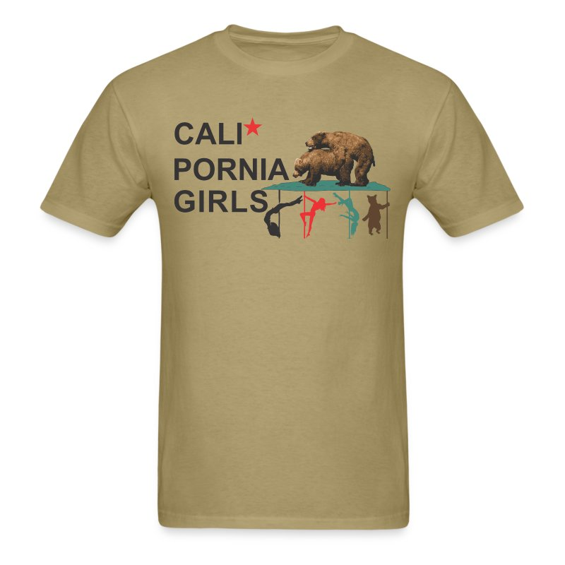 Calipornia Girls - Men's T-Shirt