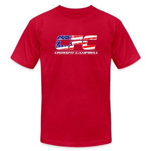 Athlete Flag Mens Tee - Men's T-Shirt by American Apparel