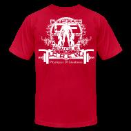 T-Shirts ~ Men's T-Shirt by American Apparel ~ Swole Crew v1 TSHIRT