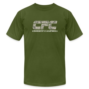 Camo Athlete Tee Mens - Men's T-Shirt by American Apparel