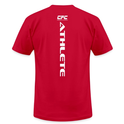Camo Athlete Tee Mens - Men's Fine Jersey T-Shirt