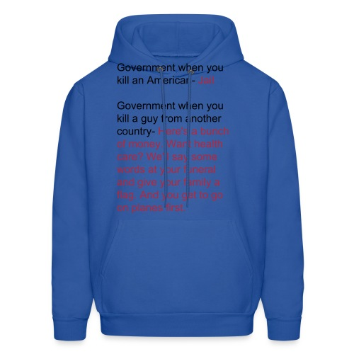 An entire rant condensed into a hoodie - Men's Hoodie