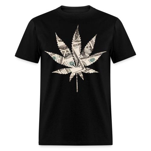 Money Weed - Men's T-Shirt