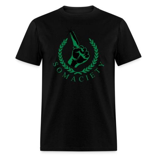 Green/Black Somaciety Men's T-Shirt - Men's T-Shirt