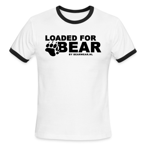 Loaded for bear Ringer shirt - Men's Ringer T-Shirt
