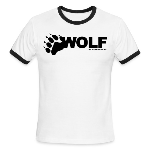 Wolf Ringer shirt - Men's Ringer T-Shirt