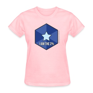 I Am the 2% - Women's T-Shirt