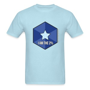 I am the 2% - Men's T-Shirt