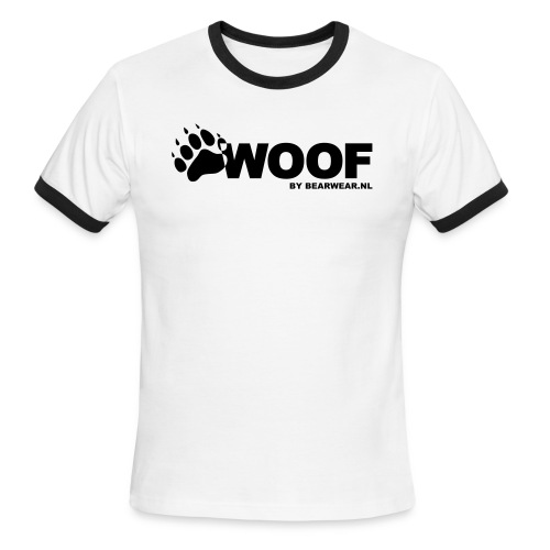 Woof Ringer shirt - Men's Ringer T-Shirt
