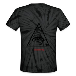 Illuminati is watching - Unisex Tie Dye T-Shirt