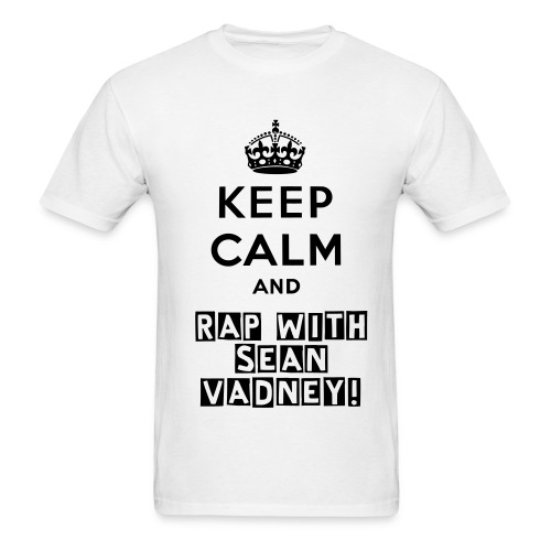 Keep Calm T-Shirt - Men's T-Shirt