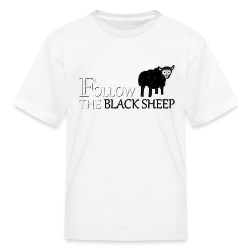 Kids Follow the Black Sheep - Kids' T-Shirt