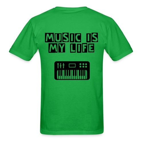 Music Is My Life T-Shirt - Men's T-Shirt