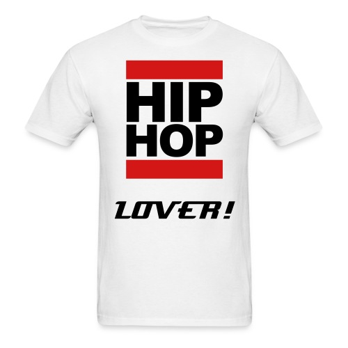 Hip Hop Lover T-Shirt - Men's T-Shirt