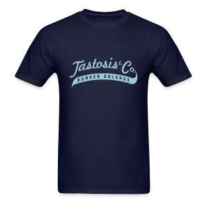 Tastosis & Co - Men's Navy with Light Blue - Men's T-Shirt