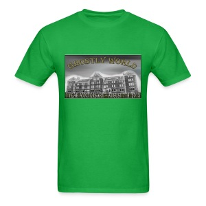 Ghostly World One Year Anniversary (Mens) - Men's T-Shirt
