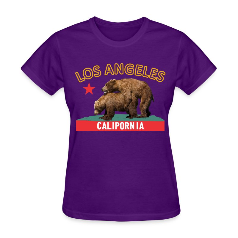CP purple&gold f - Women's T-Shirt