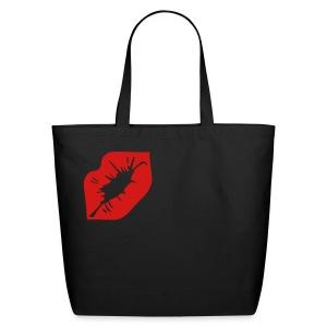 Kiss me tote bag - Eco-Friendly Cotton Tote