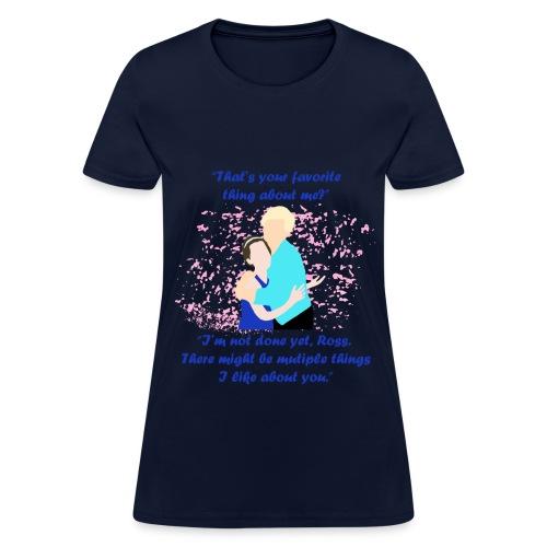 Your Favorite Thing About Me Women's Standard Weight T-Shirt - Women's T-Shirt