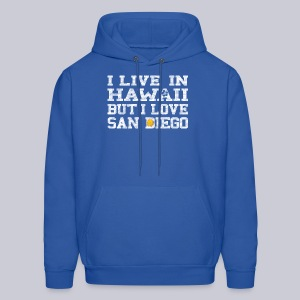 Live Hawaii Love San Diego - Men's Hoodie