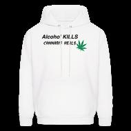 Hoodies ~ Men's Hoodie ~ Cannabis Heals
