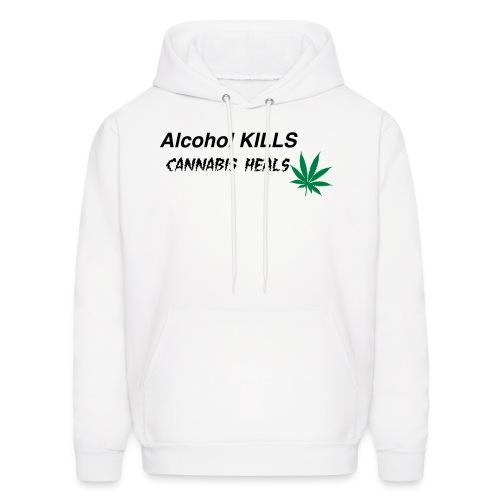 Cannabis Heals - Men's Hoodie