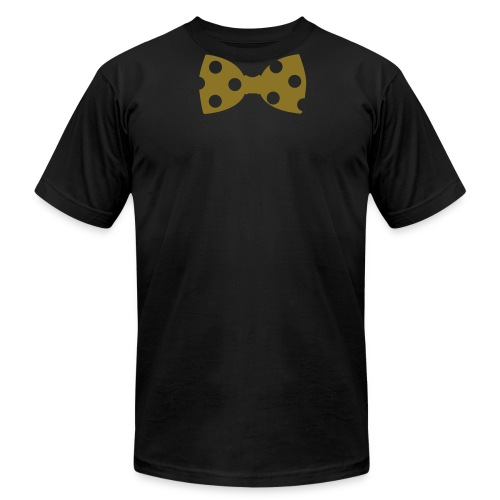 Black & Gold Collection Tied Up - Men's Fine Jersey T-Shirt