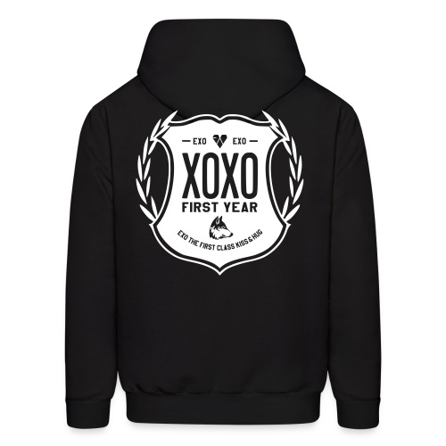 XOXO First Year-Double Sided - Men's Hoodie