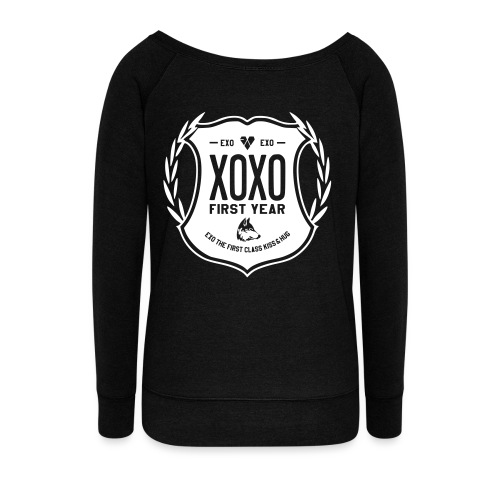 XOXO First Year-Double Sided - Women's Wideneck Sweatshirt