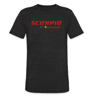 T-Shirts ~ Unisex Tri-Blend T-Shirt ~ Scorpio KRSchannel T-shift