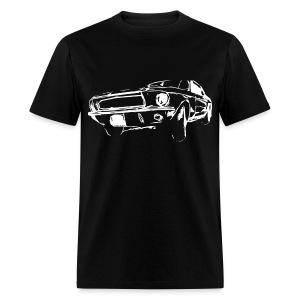 Classic Mustang - Men's Standard Weight T-Shirt - Men's T-Shirt