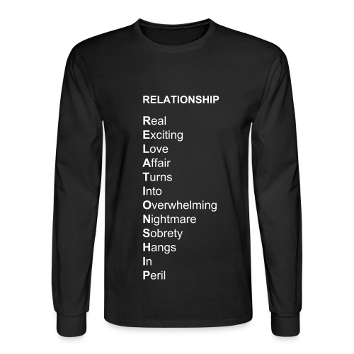 RELATIONSHIP Buseyism Men's Long Sleve T-Shirt - Men's Long Sleeve T-Shirt