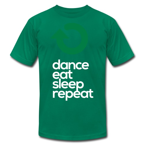 Dance Eat Sleep Repeat - Men's Fine Jersey T-Shirt