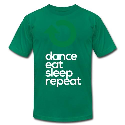 Dance Eat Sleep Repeat - Men's  Jersey T-Shirt