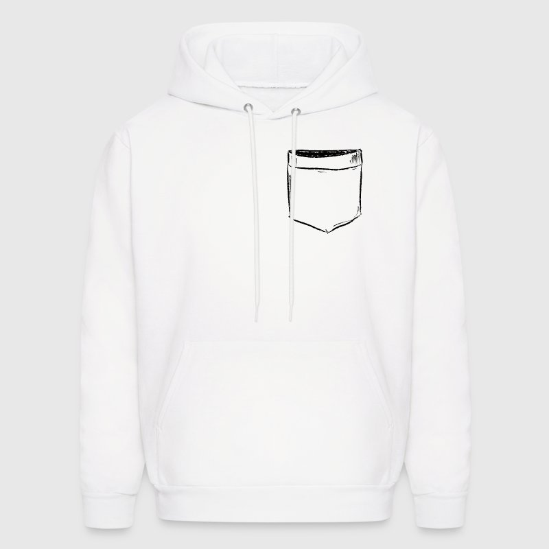 Pocket Drawing Comic Hoodies - Men's Hoodie