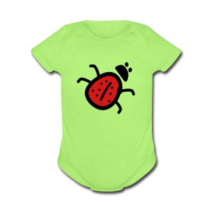 ladybug Baby short sleeve one piece - Short Sleeve Baby Bodysuit