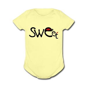 Sweet ladybugs Baby short sleeve one piece - Short Sleeve Baby Bodysuit