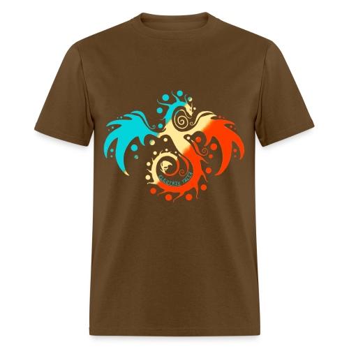 Tri-Color Talia Basic Tee - Men's T-Shirt